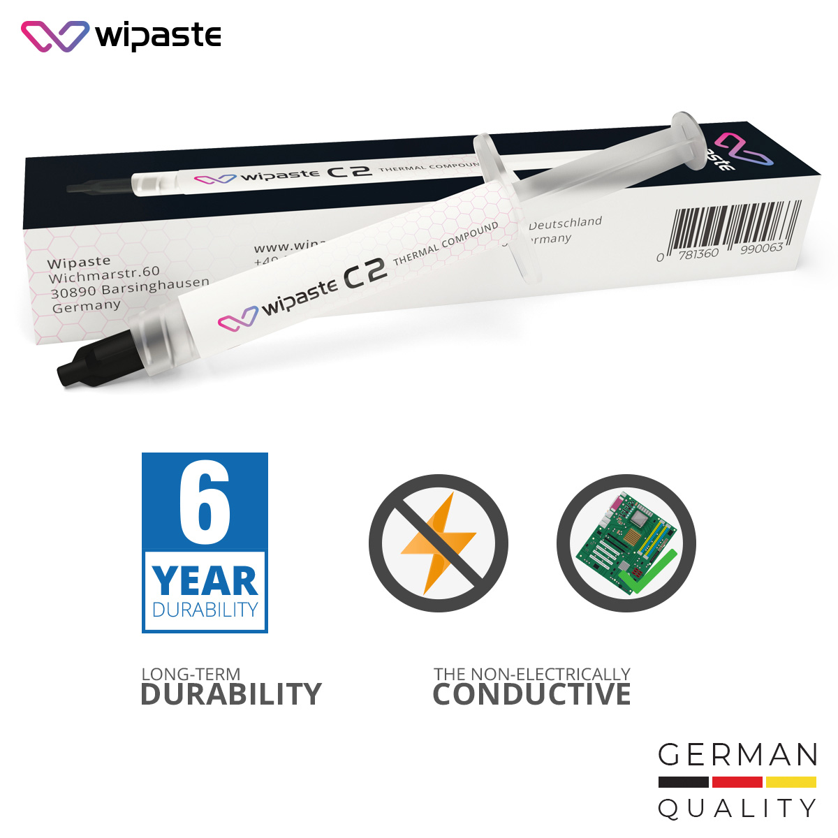 Wipaste C2 Thermal Compound
